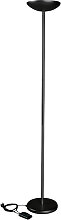 Halogen-Deckenfluter MLG Skip schwarz dimmbar
