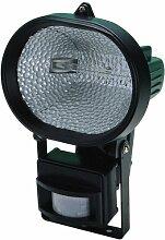Halogeno 300W + Lampe + Bewegungsmelder Maurer