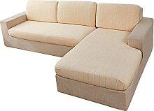 HALOUK Sofa Sitzkissenbezug 2 Sitzer,Elastische