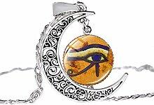 Halskette mit Anhänger aus antikem ägyptischem