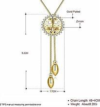 Halskette Modetrends Damen Accessoires Schmuck International , Weißes Gold