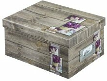 HAMA 2172 Hama Fotobox Rustikal Lila 17x22x11 700