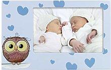 Hama Baby und Kinder Bilderrahmen Eule Elia für