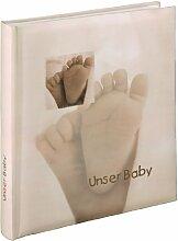 Hama Babyalbum Baby Feel, Fotoalbum mit 29 x 32