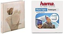 Hama Babyalbum Baby Feel (Fotoalbum mit 60 Seiten