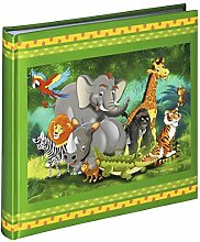 Hama Fotoalbum Jungle Animals, Kinder Fotobuch mit