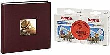 Hama Jumbo Fotoalbum (30 x 30 cm, 100 Seiten)