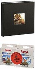 Hama Jumbo Fotoalbum Fine Art, 100 schwarze