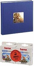 Hama Jumbo Fotoalbum Fine Art, 100 Seiten, blau +