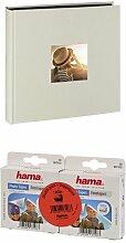 Hama Jumbo Fotoalbum Fine Art, 100 Seiten, Kreide