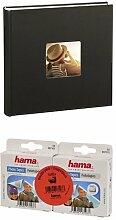 Hama Jumbo Fotoalbum Fine Art, 100 Seiten, schwarz