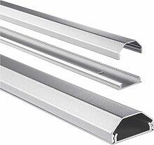 Hama Kabelkanal Alu (Aluminium Leiste für TV