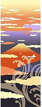 Hamamonyo Bild Tenugui Akane-Fuji(Sonnenuntergang)