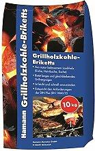 Hamann Grillholzkohle-Briketts 10 kg 10 kg