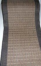 Hamat Teppich Läufer rutschfest Braun Meterware lfm. 39,90 Euro Breite 100 x 260 cm