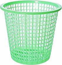 Hamhu Kunststoff Mülleimer, Trompete Grün