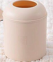 Hamhu Kunststoff Table Top, Kaffee Tisch, In Der Küche Tisch, Bett, Deckel, Kreisförmigen Mülleimer, Khaki