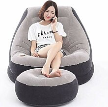 HAMIMI Aufblasbarer Sessel mit aufblasbarem Stuhl,