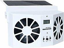 Hamkaw Solarbetriebener Auto Ventilator