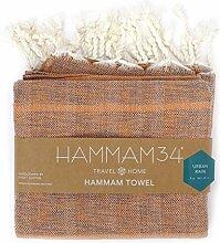 Hammam34 reine Baumwolle und Bambus luxuriös