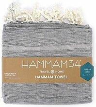 Hammam34Reine Baumwolle und Bambus luxuriös