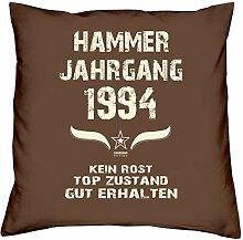 Hammer Jahrgang 1994 Sprüche Kissen 40x40 für