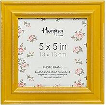 Hampton Frames Bilderrahmen, quadratisch, gelb,