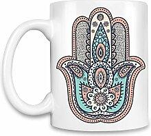 Hamsa Kaffee Becher