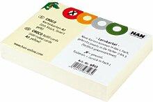 HAN Karteikarten für CROCO Lernkartei, 190 g/m²,