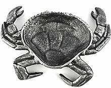 Hand crafted Antik Silber Gusseisen Crab