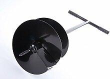 Handbohrer Erdbohrer Handerdbohrer Erdlochbohrer Durchmesser 250mm