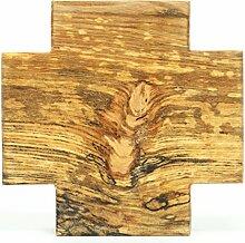 Handgefertig.Holzkreuz,ca.13x13cm