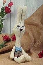 Handgefertigt Hase Stofftier Wohnzimmer Deko