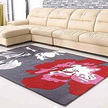 Handgefertigte Acryl Teppich Modern Muster Perspektive Jianhua Acryl Teppiche Wohnzimmer Den Sofa Balkon Schlafzimmer Nachtdecke Teppich Färbeverfahren Aktivität Eng dicke Decke Bunte Fuß wohlfühlen