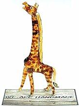 Handgefertigte Giraffen-Art Glasfigur Nr. 2