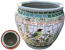 Handgefertigte Keramik Blumentopf Pflanze Topf