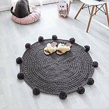 Handgefertigte Kugel Teppich Teppich Wolle gewebte