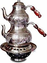 Handgefertigte Kupfer-Teekanne mit
