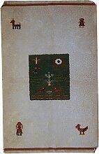 Handgefertigter Gabbeh Teppich, 1960er