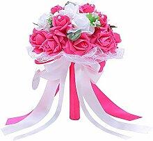 Handgefertigter Hochzeitsstrauß Brautstrauß
