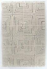 Handgefertigter Kelim-Teppich Vintage Square aus
