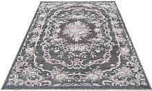 Handgefertigter Teppich Aubusson Flore in