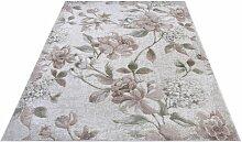 Handgefertigter Teppich Aubusson Jardin in