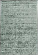 Handgefertigter Teppich Furness in Mintgrün