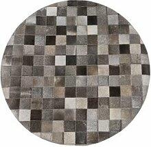 Handgefertigter Teppich Gilberto aus Kuhfell in