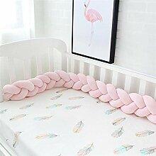 Handgefertigtes geflochtenes Kissen für Babybett,
