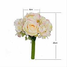 Handgemacht Bouquet Hochzeit Braut Simulation