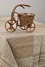 Handgemachte Decke fur quaderformigen Tisch im Patchwork Stil