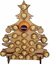 Handgemachte hölzerne Weihnachten Adventskalender