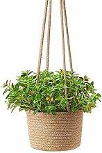 Handgemachte Makramee Pflanze Kleiderbügel